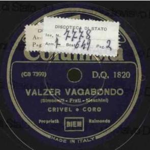 Valzer Vagabondo cover