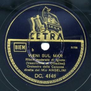 Vieni Sul Mar cover