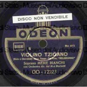 Violino Tzigano cover