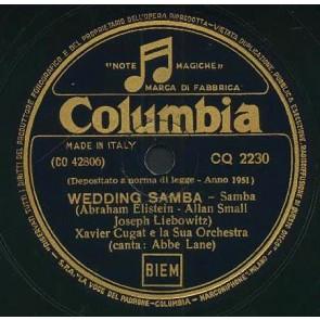 Wedding Samba cover