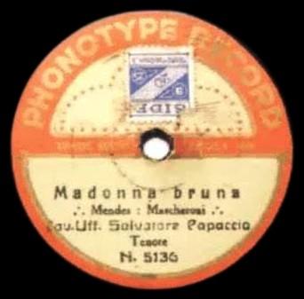 Madonna Bruna cover
