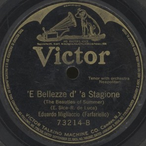 'E bellezze d'a Stagione