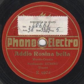 Addio Rosina bella