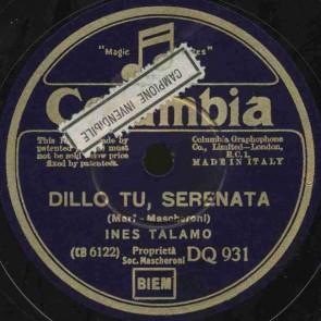 Dillo tu serenata