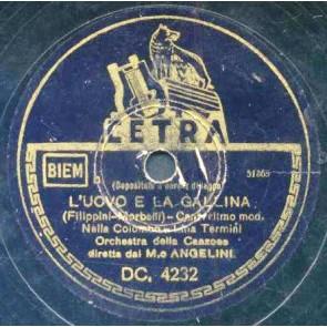 L'uovo E La Gallina cover