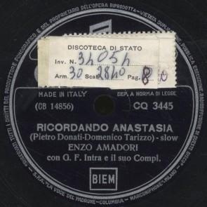 Ricordando Anastasia