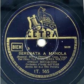 Serenata A Manola cover