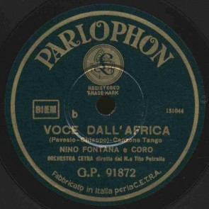 Voce dall'Africa