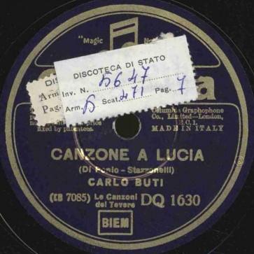 Canzone a Lucia