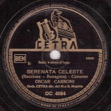 Serenata celeste cover