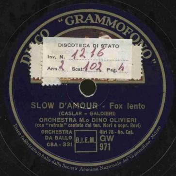 Slow d'amour