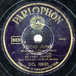 Addio Juna cover