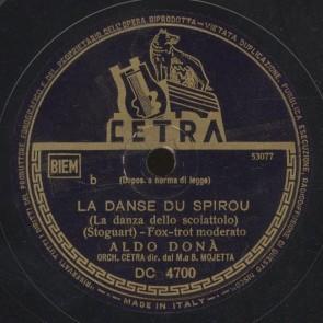La danse du spirou