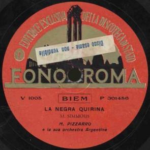 La negra Quirina