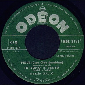 Piove ( Ciao Ciao Bambina) cover