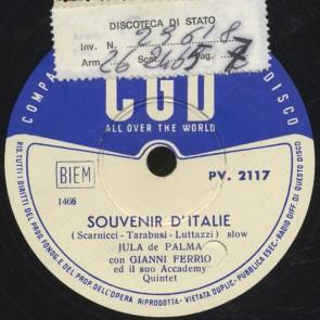 Souvenir d'Italia
