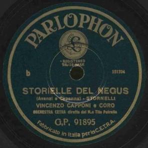 Storielle del Negus