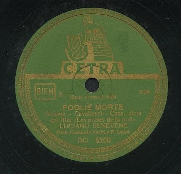 Foglie Morte cover