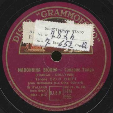 Madonnina bionda