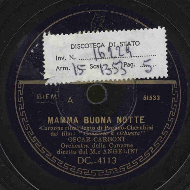 Mamma Buona Notte