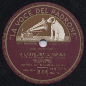 A cartulina 'e Napule