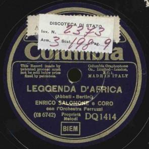 Leggenda d'Africa