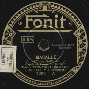 Macalle' (... Ritorna Galliano...)