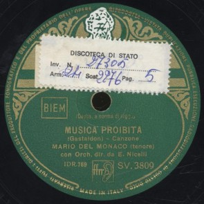 Musica proibita