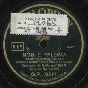 Non e' Paloma