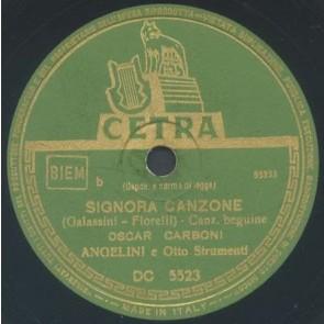 Signora Canzone cover