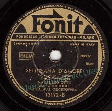 Settimana D'amore cover