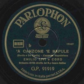 'A Canzone 'e Napule