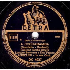 A Cochabamba cover