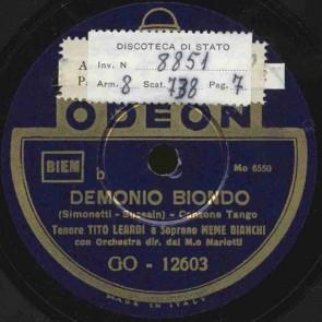 Demonio biondo
