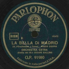 La bella di Madrid