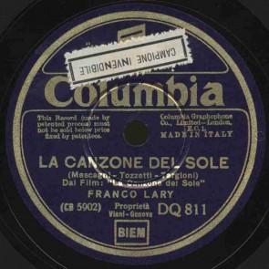 La canzone del sole