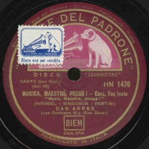 Musica Maestro, prego!