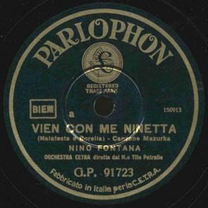 Vien con me Ninetta