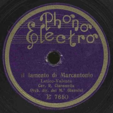 Il lamento di Marcantonio