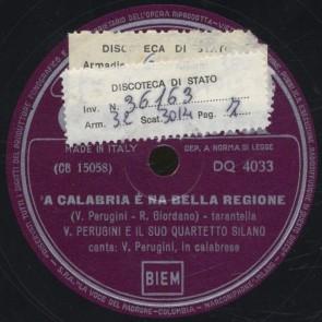 'A Calabria e' na bella regione