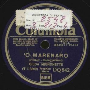 'O marenaro