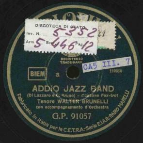 Addio jazz band