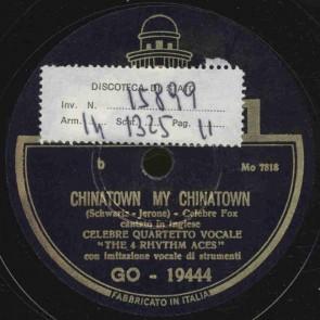 Chinatown, my Chinatown
