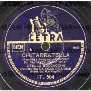 Chitarratella cover