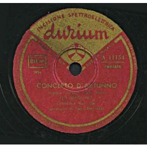 Concerto D'autunno cover