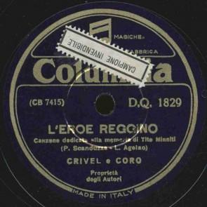 L' eroe reggino - canzone dedicata alla memoria di Tito Minniti