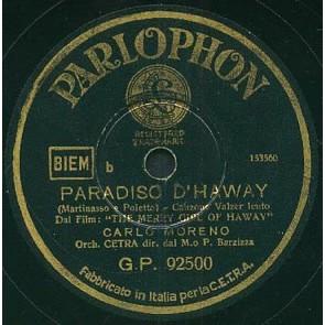 Paradiso D'haway cover