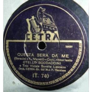 Questa Sera Da Me cover