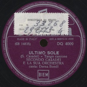 Ultimo sole