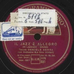 Il Jazz e' allegro